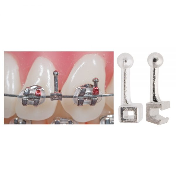 Attachments Archwire Hooks Split Ball Hooks – Open & Closed