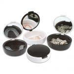 Patient Care  Black & White Mirrored Retainer Cases