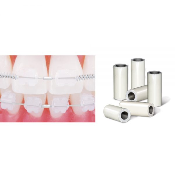 Wire Products Tooth Tone Coated Archwire and Accessories Tooth Tone Coated Crimpable Mini Stops