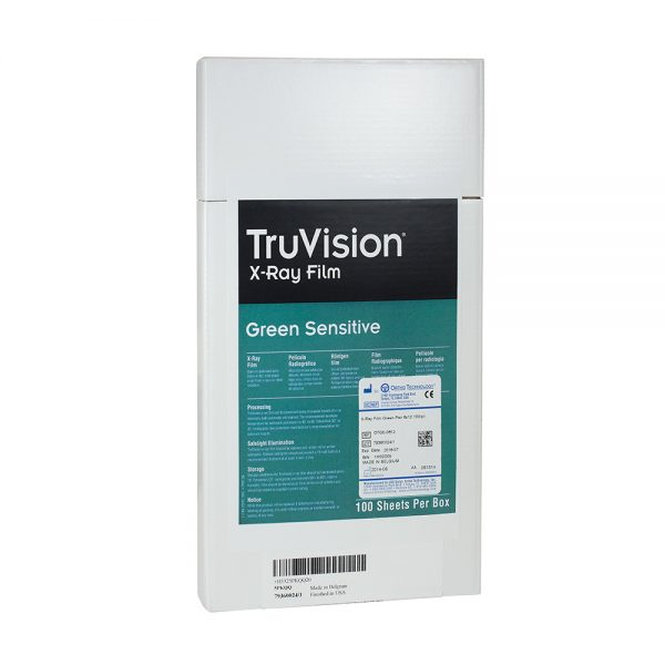 X-Ray and Imaging TruVision TruVision Green Panoramic Film 5×12