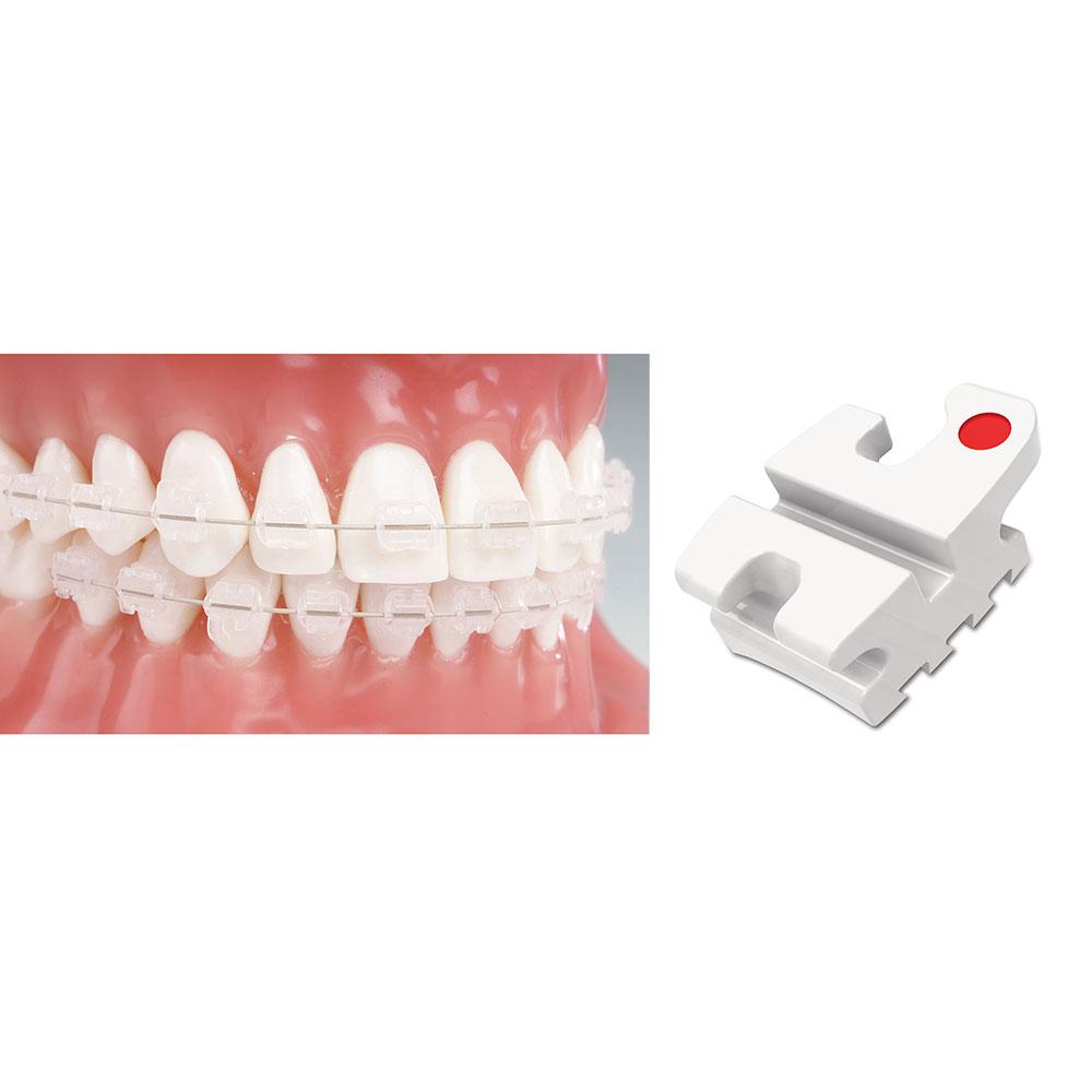 Aesthetic Brackets Reflections Ceramic Bracket System Reflections Standard Edgewise RX 10 Packs