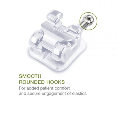 SensationM Smooth Rounded Hooks