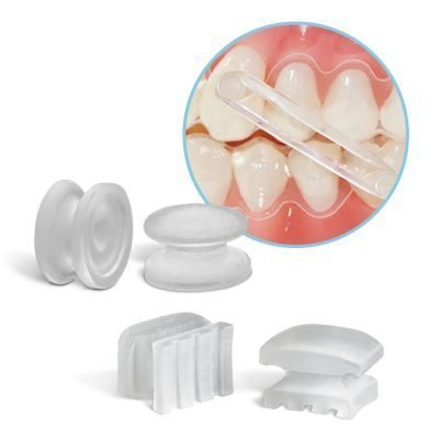 Composite Buttons for Aligners